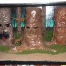 A Clay Living Tree Diorama