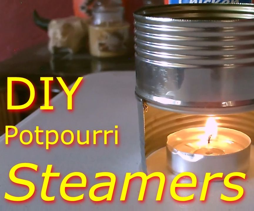 DIY Potpourri Steamer Pots! ~ Simple DIY Project (made With a Single Can!) - Full Instr.