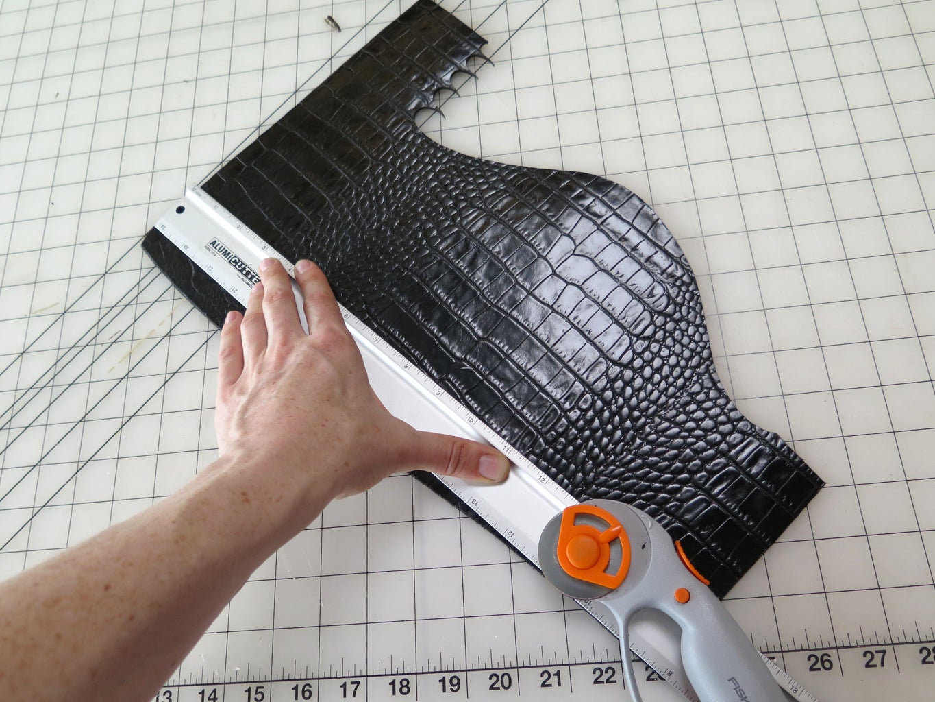 Cutting Your Leather
