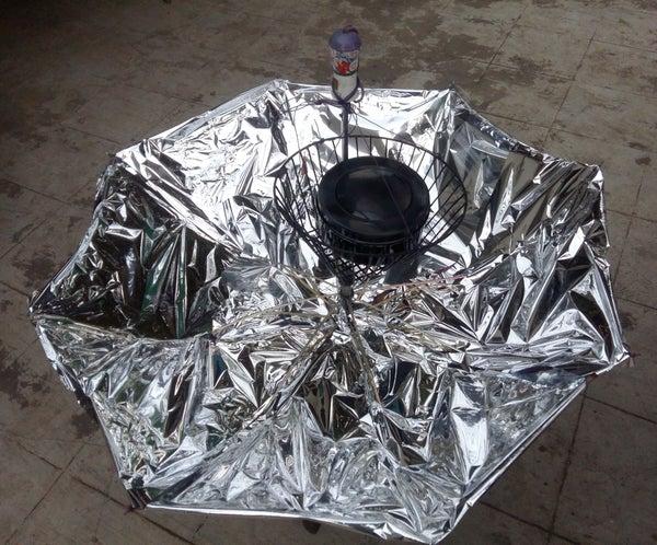 Umbrella Solar Cooker