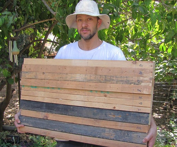 How to Make Pallet Wood Slab From Recycled Materials