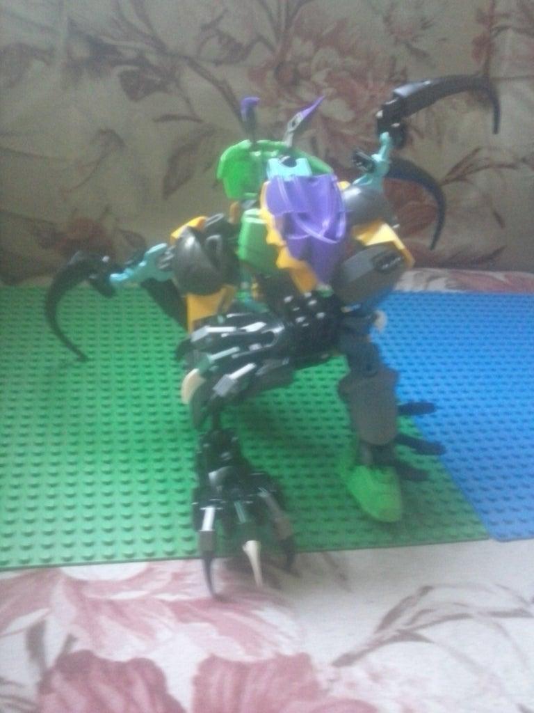Hero Factory: Update Bomber Bioformer