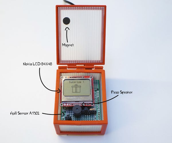 Giftduino - the Arduino Gift Box That Keeps on Giving