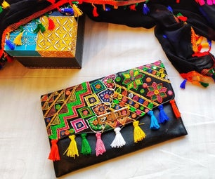 How to Make Over Old Purse to a Designer One