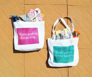 DIY: Sun-dye Your Own Tote Bag