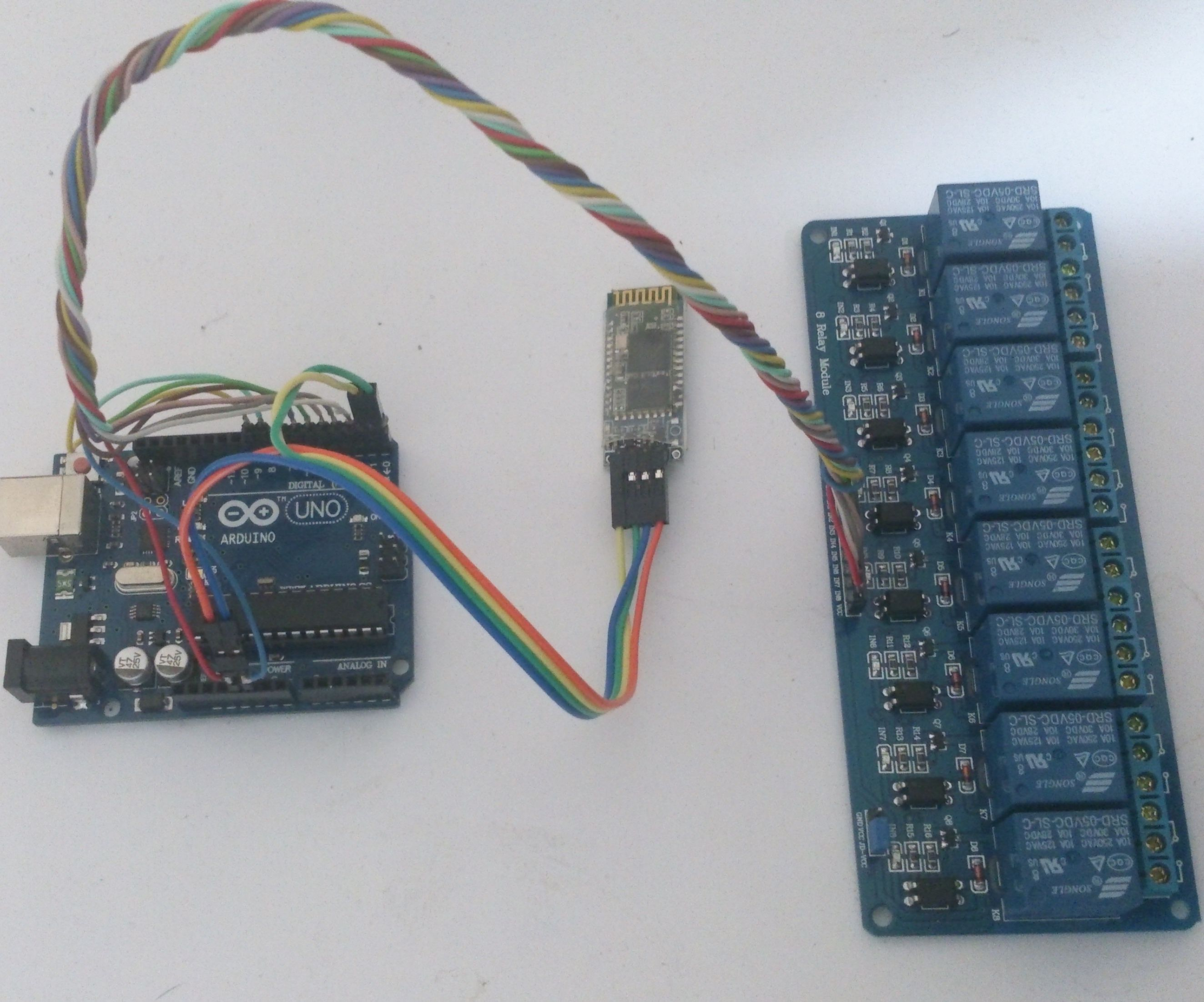 Smart Voice Controller (Arduino) - Android Smartphone