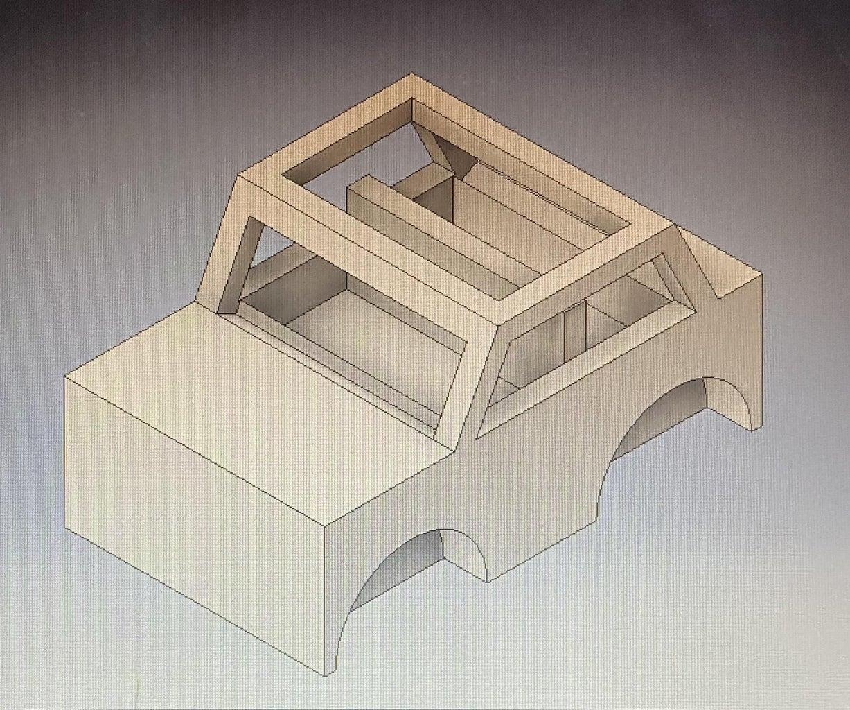 Seats, Axle Gaps, & Rubber Band Hole