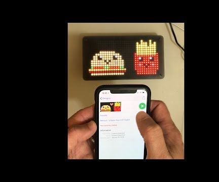LED Matrix Frame With Free Bluetooth Apps