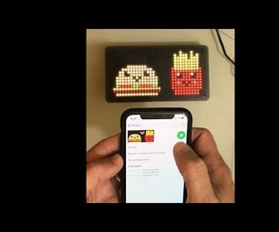 Pixel Art LED Frame With Bluetooth App Control