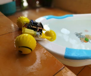 How to Make a Remote Controlled Robot Car Which Can Move on Land and Water Both With Special Wheels