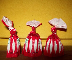 Candy Wrapper Origami : Opera Singers!