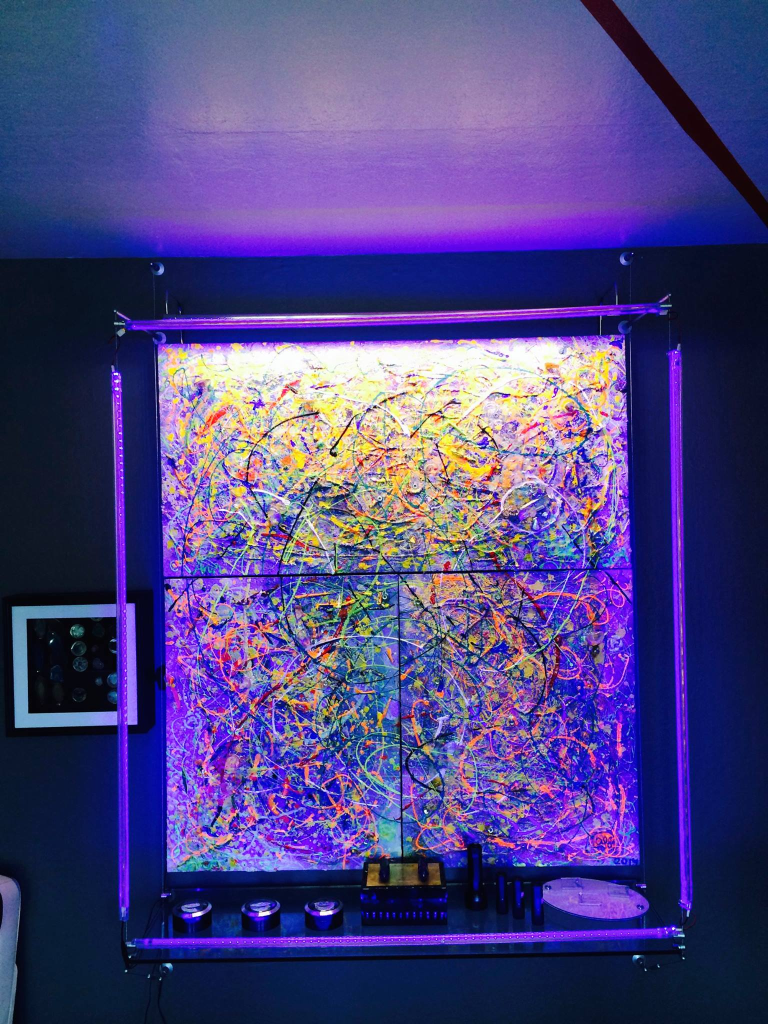 Day/Night - Interactive - changable - social - home entertainment art