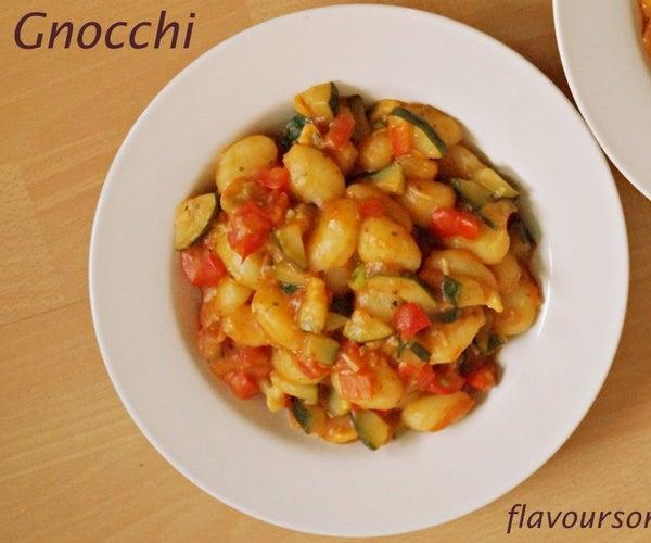 Gnocchi Pesto Recipe