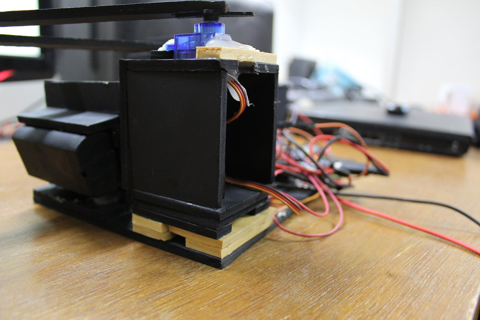 Moving the X Axis Platform