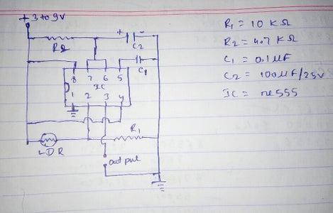 2)circuit Diagram