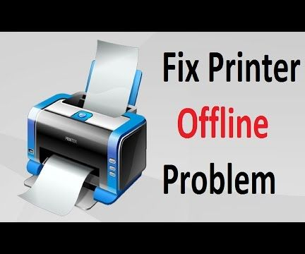 Printer Offline Problem!! Windows 10/8/7