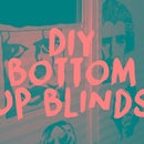 Cheap Top Down Bottom Up DIY Blinds