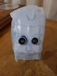 Milk Jug Skull