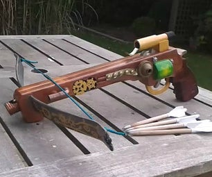 Pistol Crossbow (steampunk or Military Style)