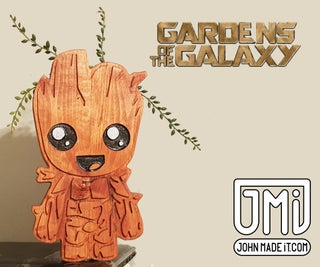 I Am Groot Planter - Gardens of the Galaxy
