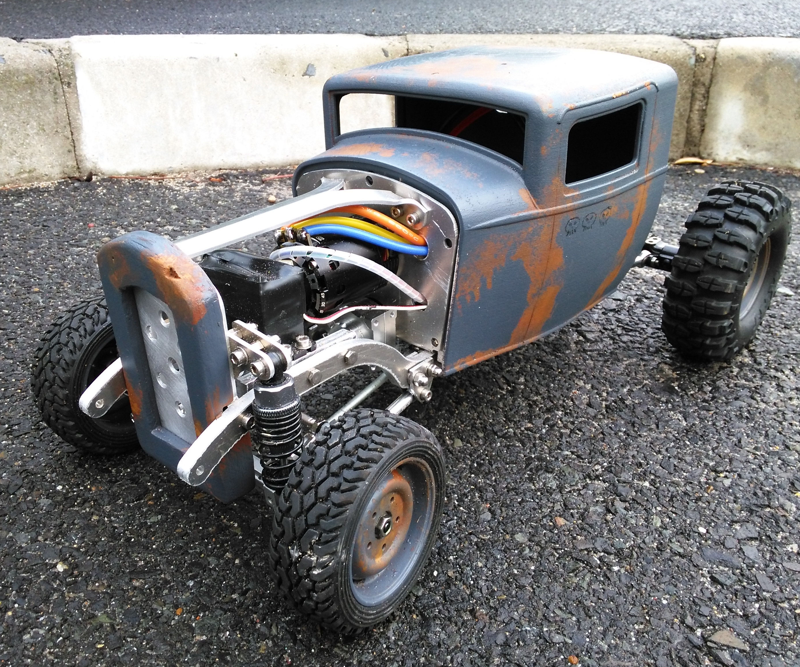 Scratch Build an RC Car with CAD and Rapid Prototyping