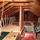 Additional Insulation Attic storage soultion