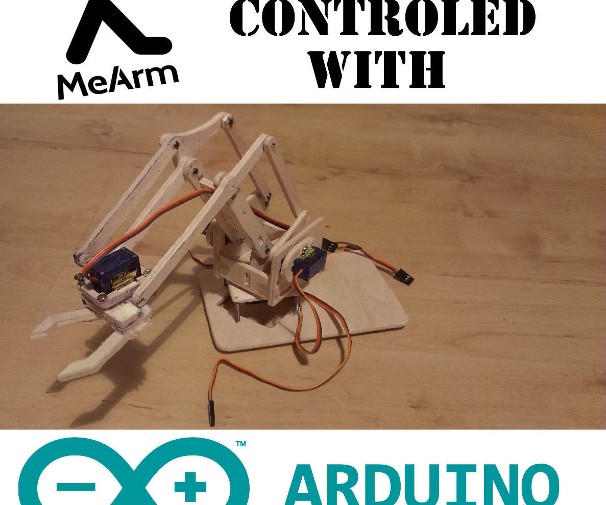 Controlling MeArm With Arduino