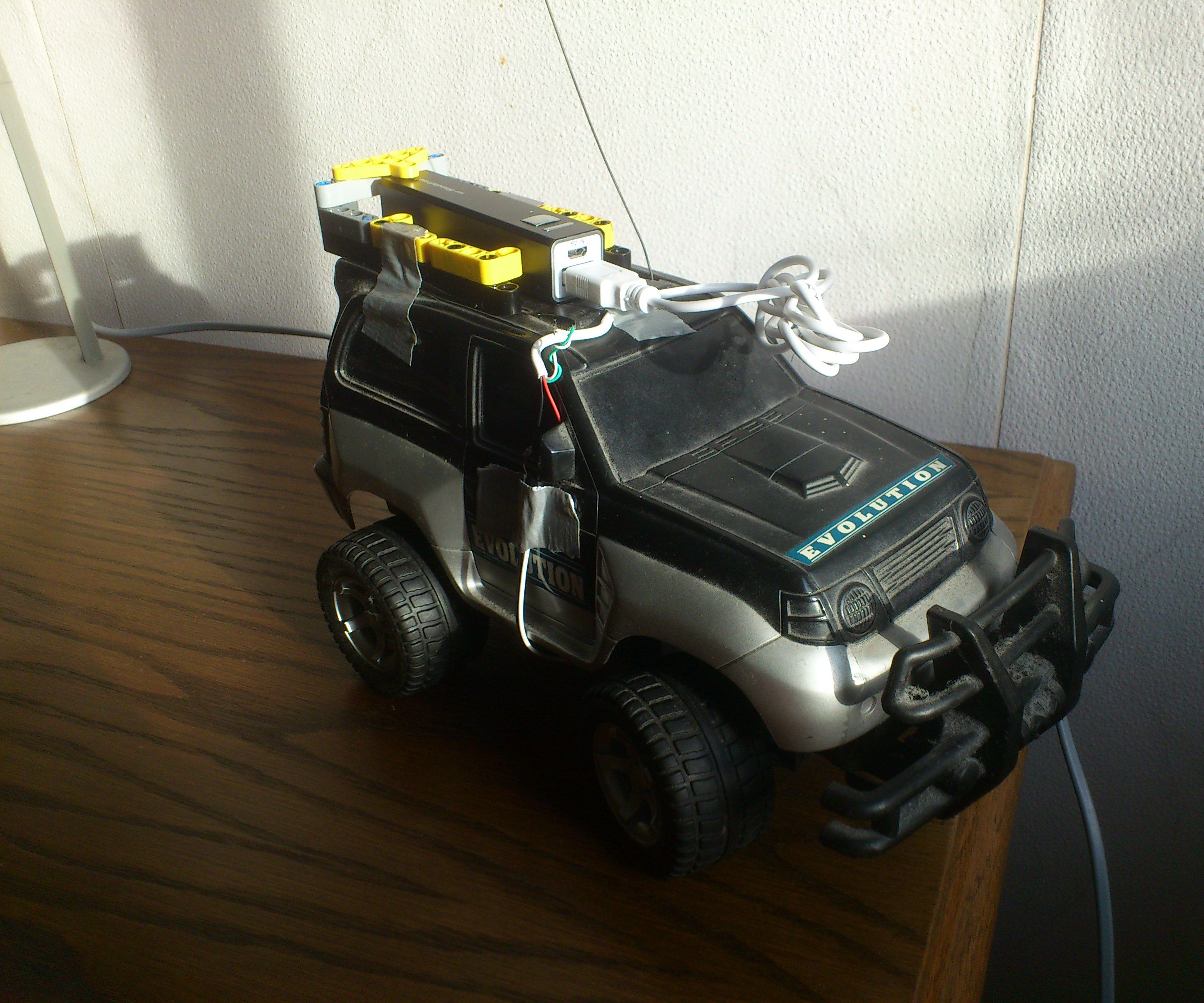 5 minute RC car conversion to lithium battery