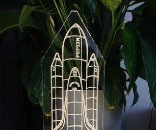 Space Shuttle Lamp