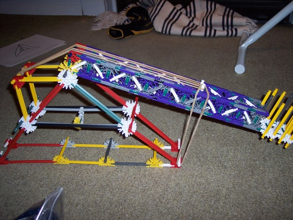Knex Table Top Catapult