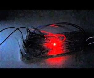 Alternating Blinker Circuit Made of Timer NE 555P