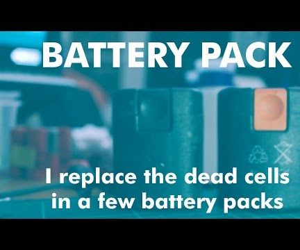How-To - Replace NiCd Battery Cells