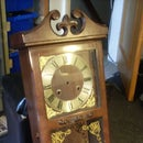 Steampunk Grandmother clock