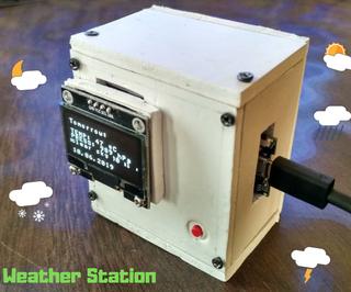 Simple Weather Station V2.0