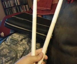 Taping Drumsticks
