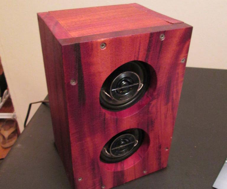 Mahogany Bluetooth Speaker