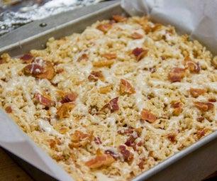 Bacon Bourbon Rice Krispy Treats