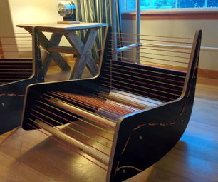 Lessons Learned - Mid-Century Rocking Chair
