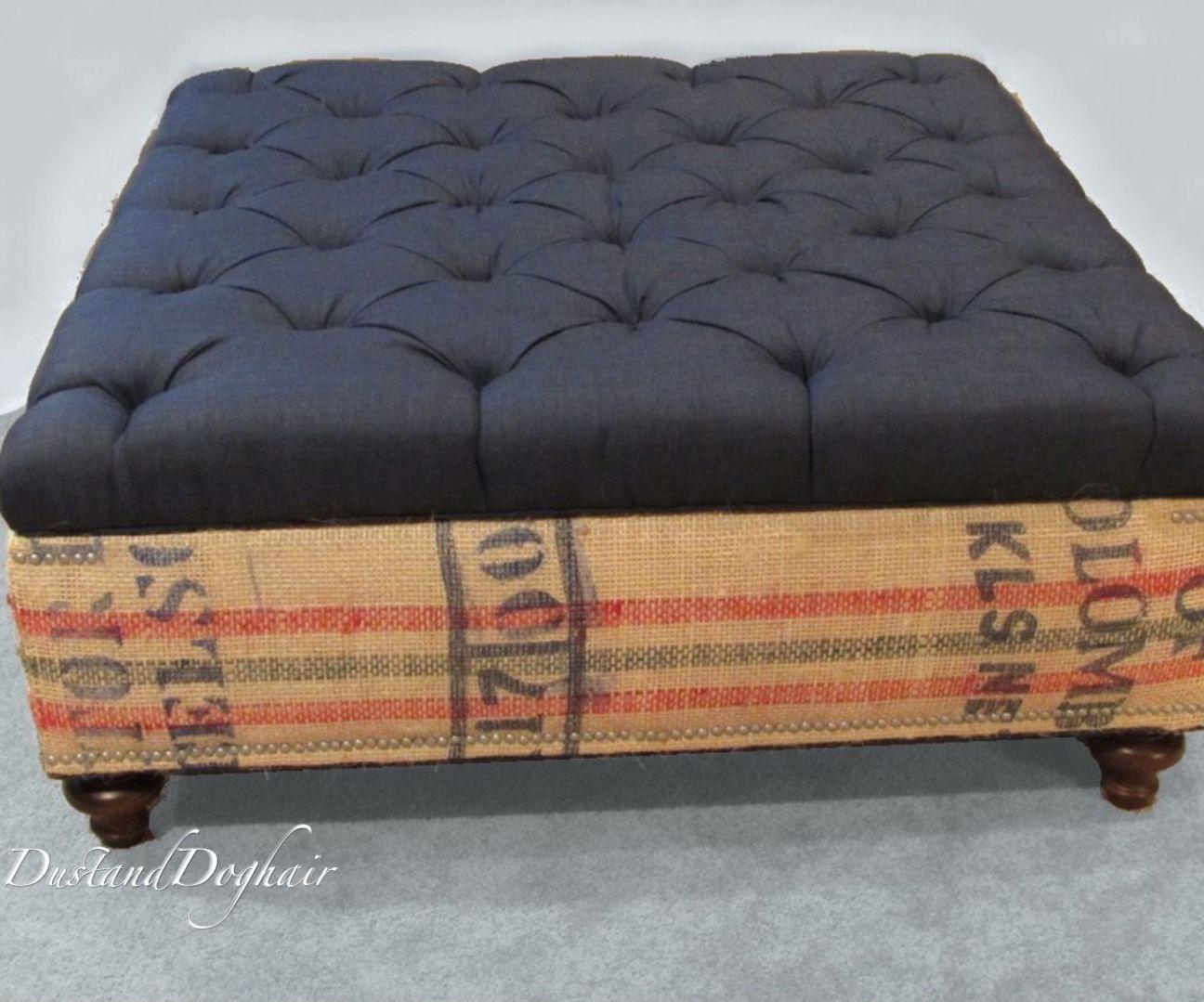 Coffee Sack Coffee Table/Storage Ottoman