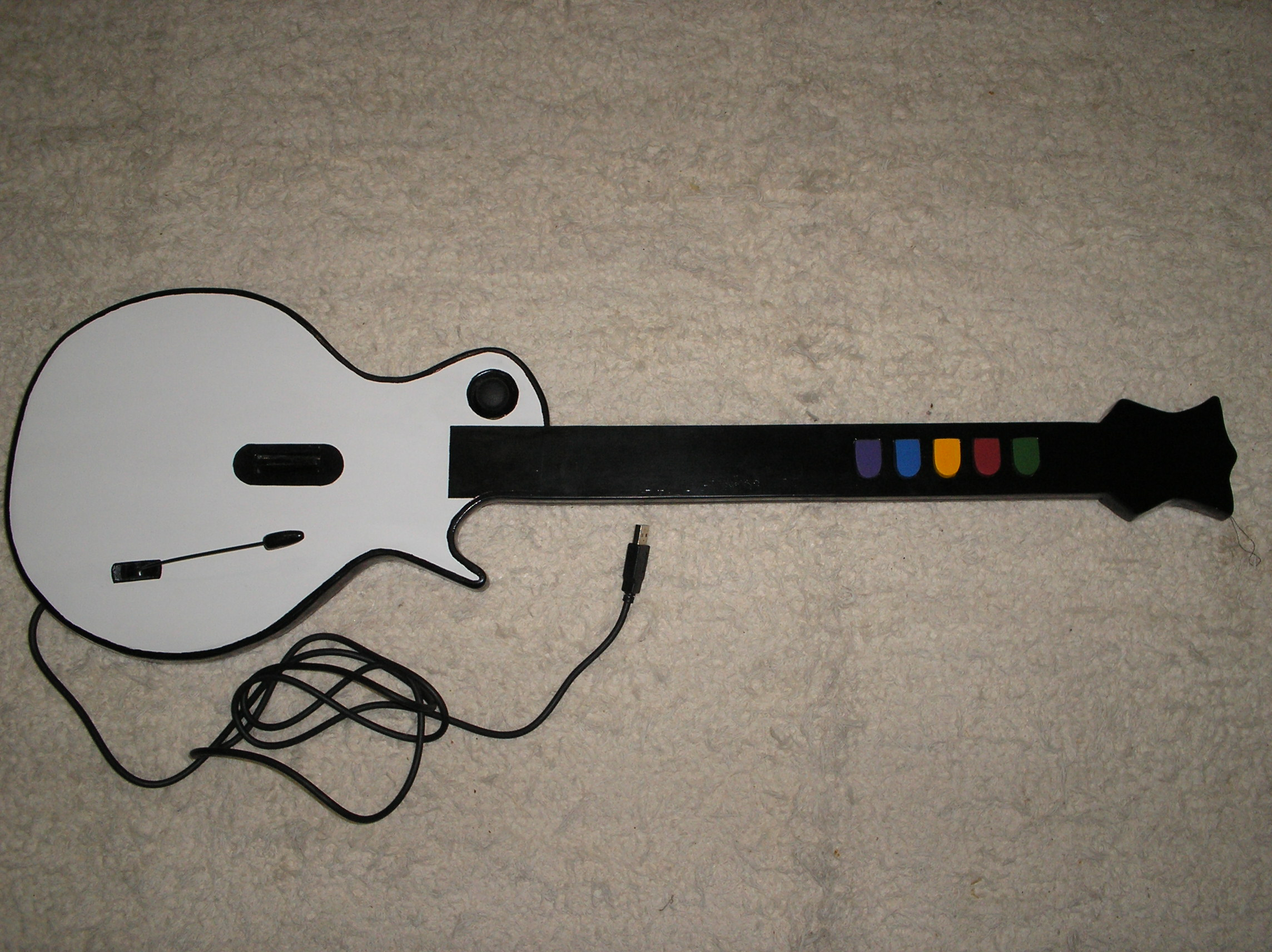Homemade Guitar Hero Gibson Controller - Guitarra Gibson para Guitar Hero