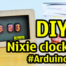 Make Nixie Clock With Arduino in MDF Wood Case