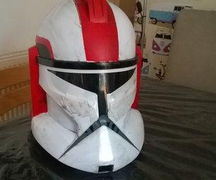 Clone Helmet: Commander Stone