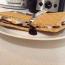 1 Minute S'mores!