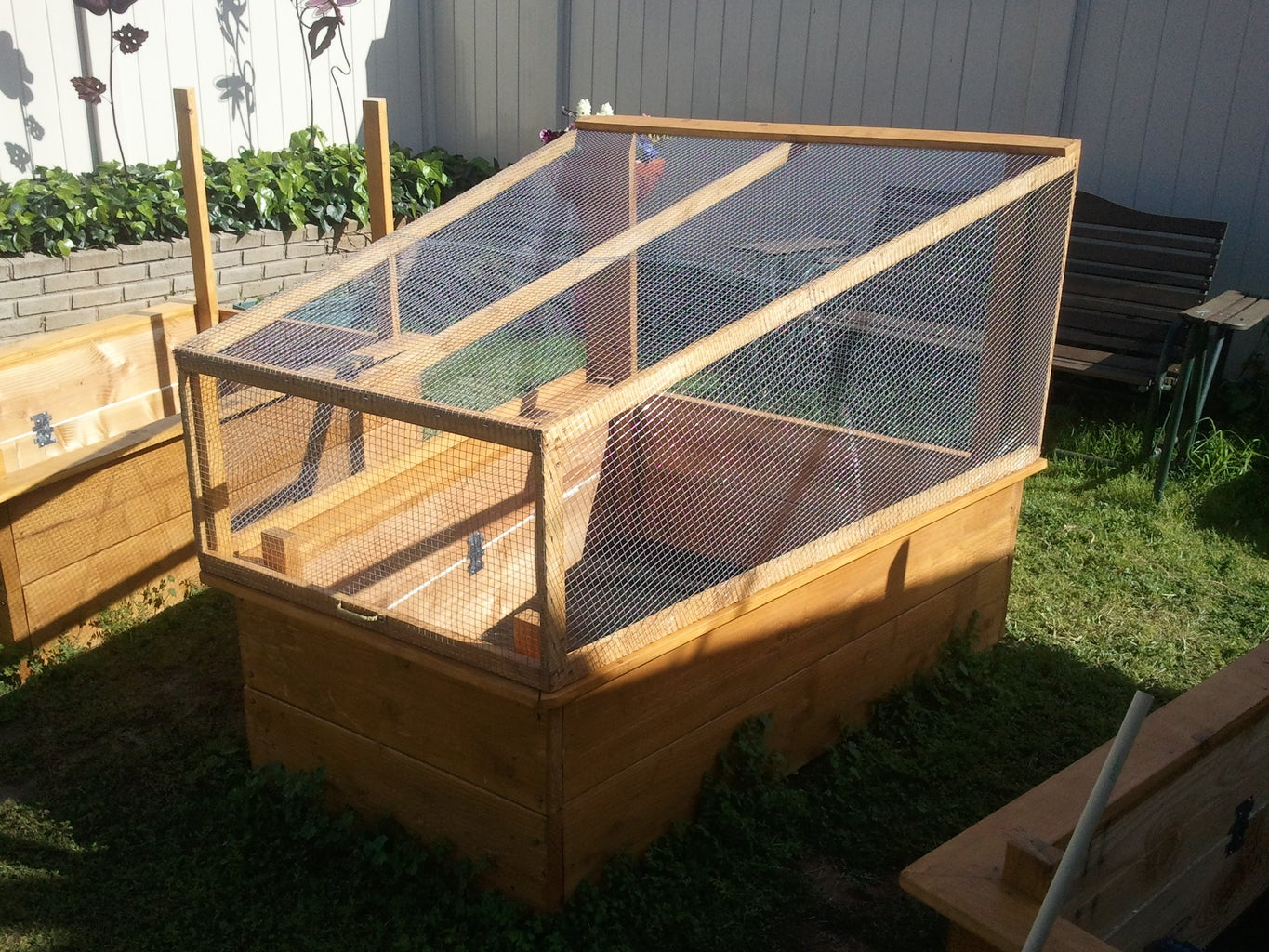 Fort Knox, Raised Beds