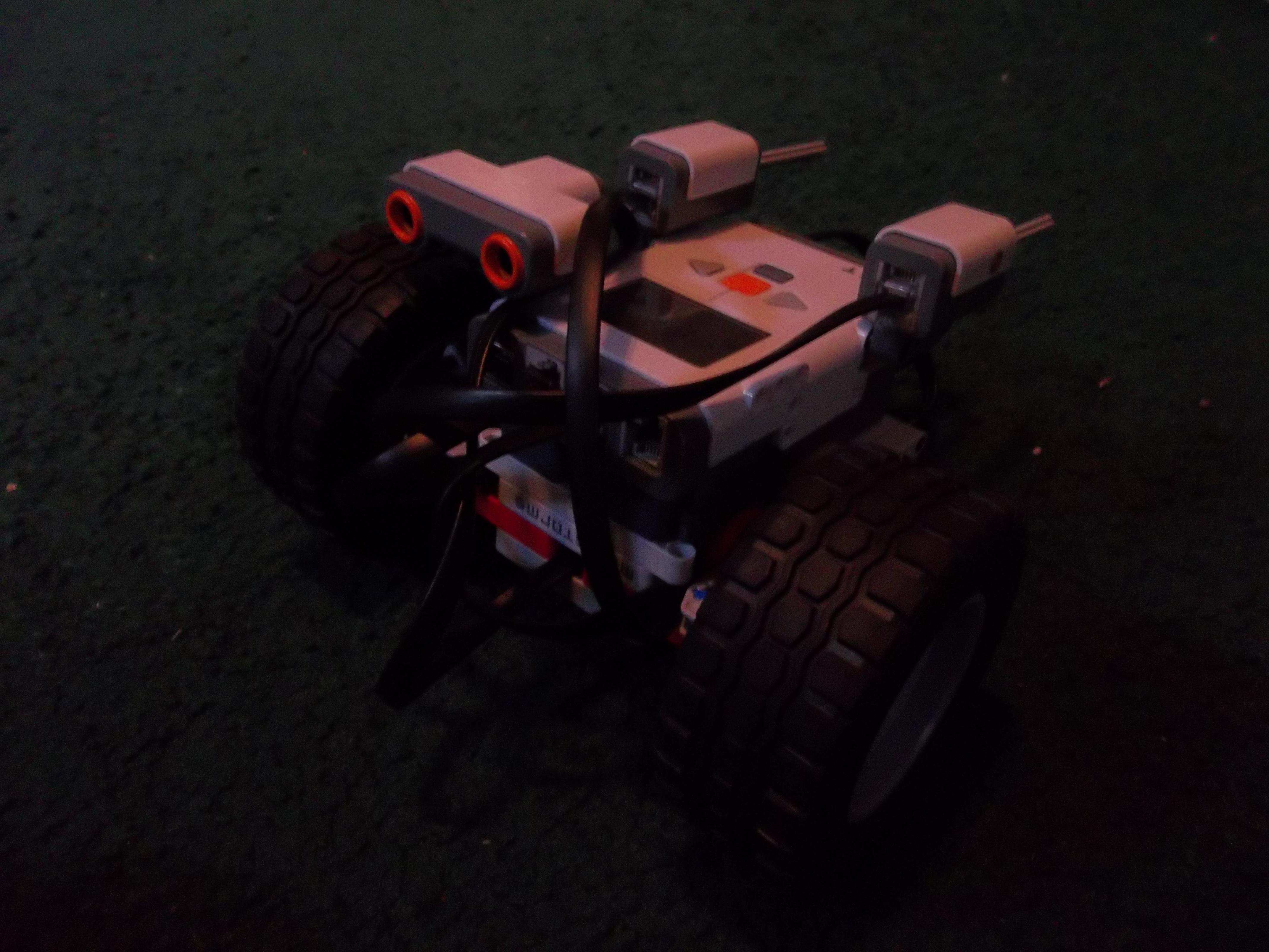 simple Lego mindstorms autonomous drone