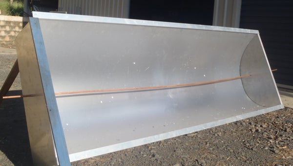 How to Build a Concentrating Solar Trough