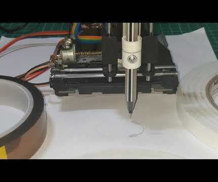 MINI 3 AXIS CNC PLOTTER(GRBL)