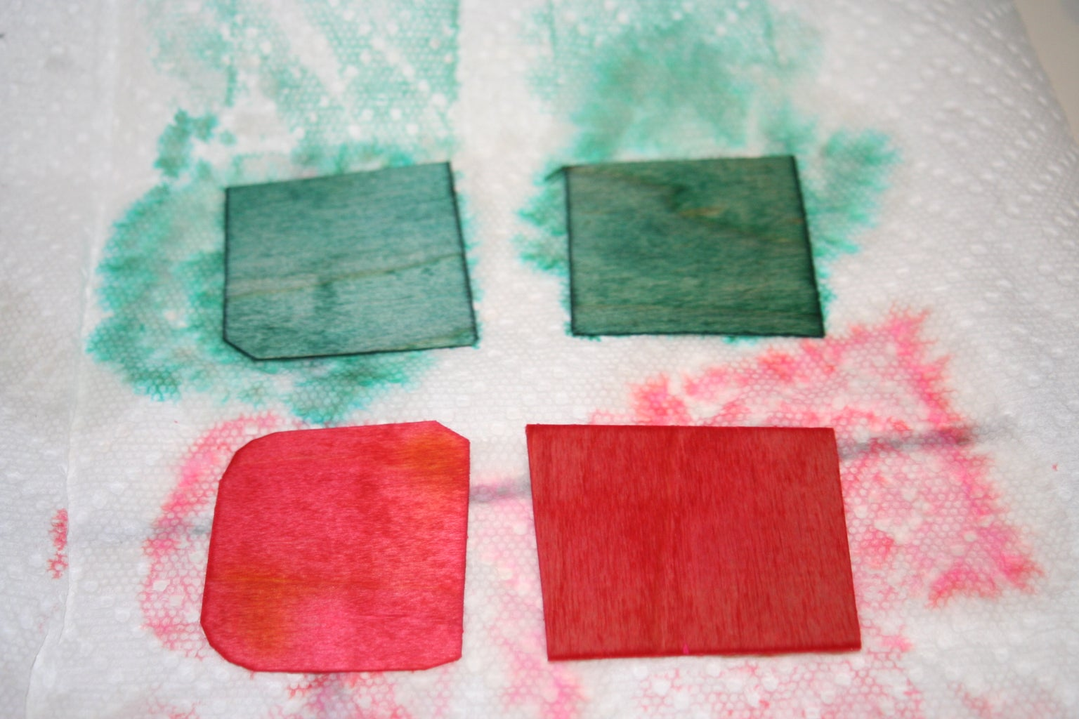 Dyeing the Wood