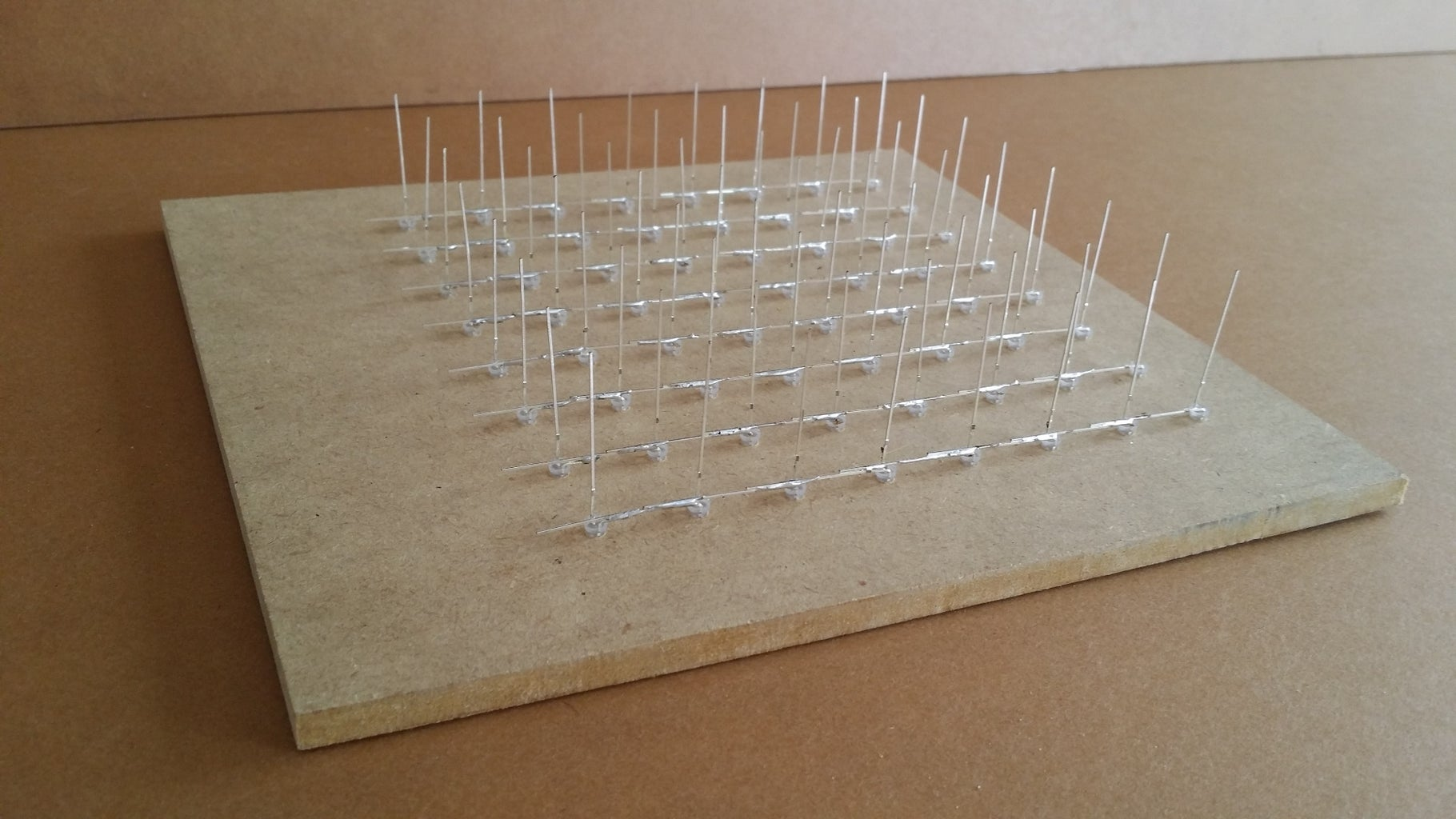 Assembly Part 1 - Build 8 Layers of 8x8 LED Matrix