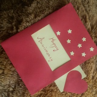 Pull Out Birthday Card